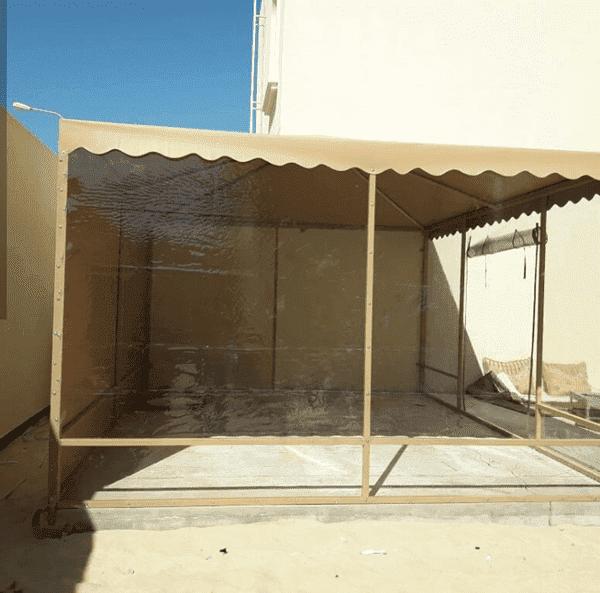 تركيب مظلات حدائق في ابها وخميس مشيط